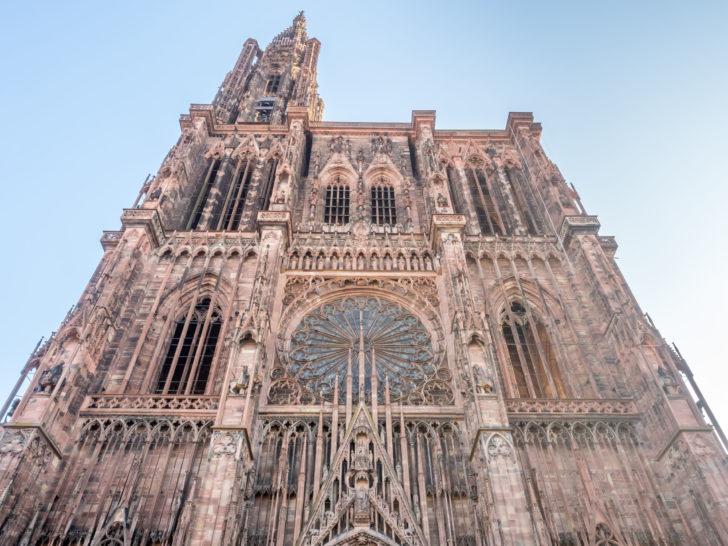 La cathédrale à Strasbourg