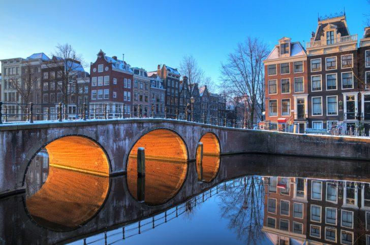 Le nouvel an à Amsterdam, Pays-Bas