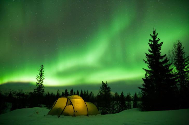 Le nouvel an en Laponie