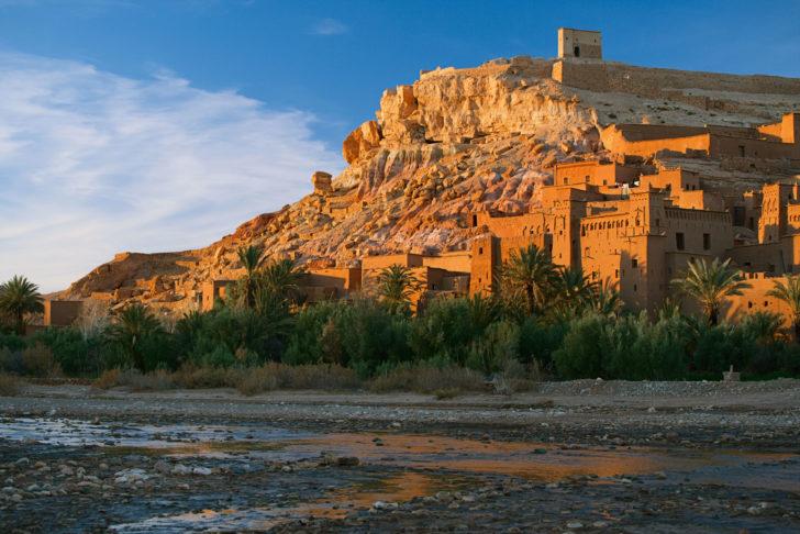 Le nouvel an à Ouarzazate, au Maroc