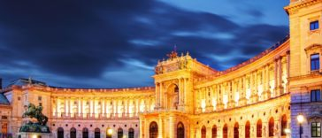 Le nouvel an à Vienne, en Autriche