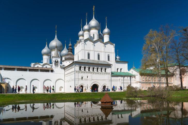 Rostov dans l'Anneau d'Or en Russie