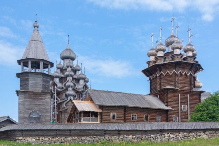 Ile Kiji en Russie