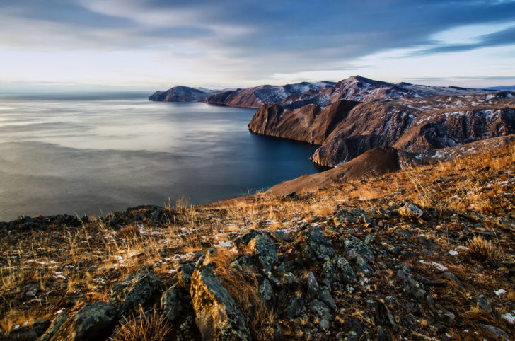Le lac Baïkal en Russie