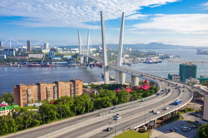 Vladivostok en Russie