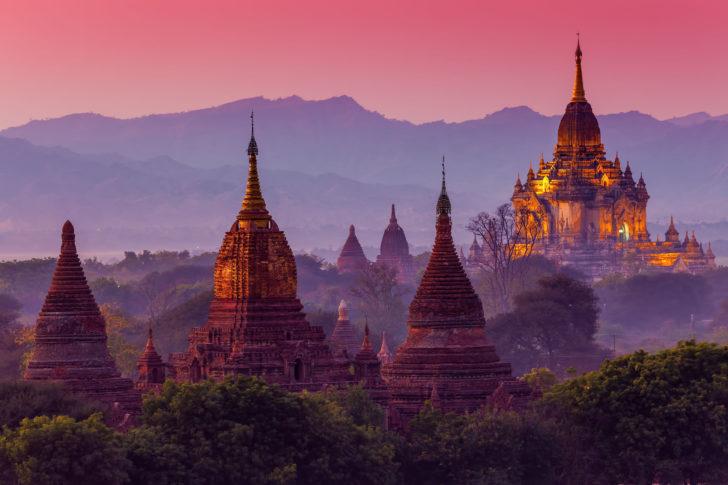 Le Myanmar, destination d'hiver