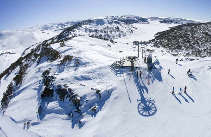 La station de ski Charlotte Pass en Australie
