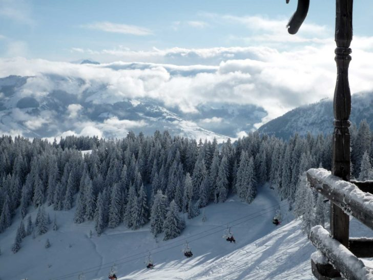 La station de ski Mont Olympe à Chypre