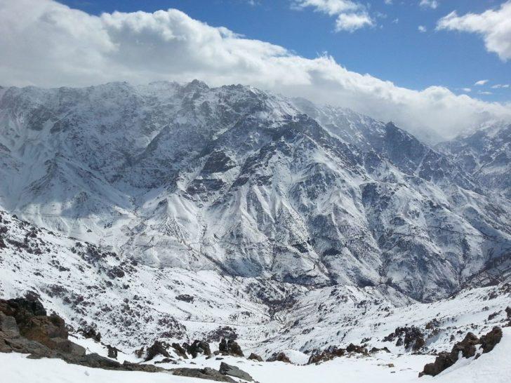 La station de ski Oukaimeden au Maroc