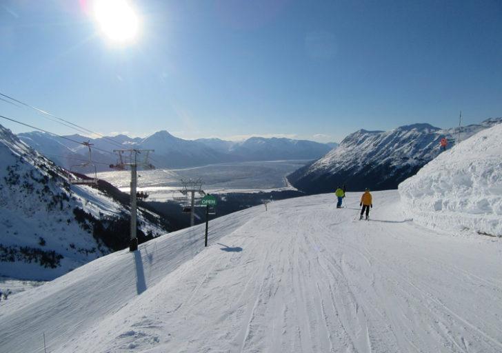 La station de ski Alyeska en Alaska