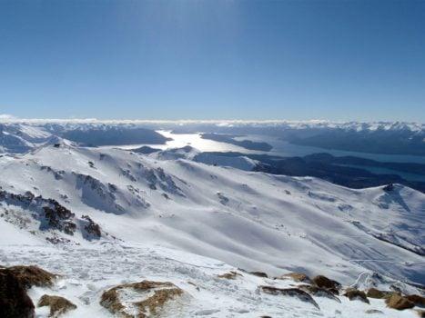 La station de ski Cerro Catedral en Argentine