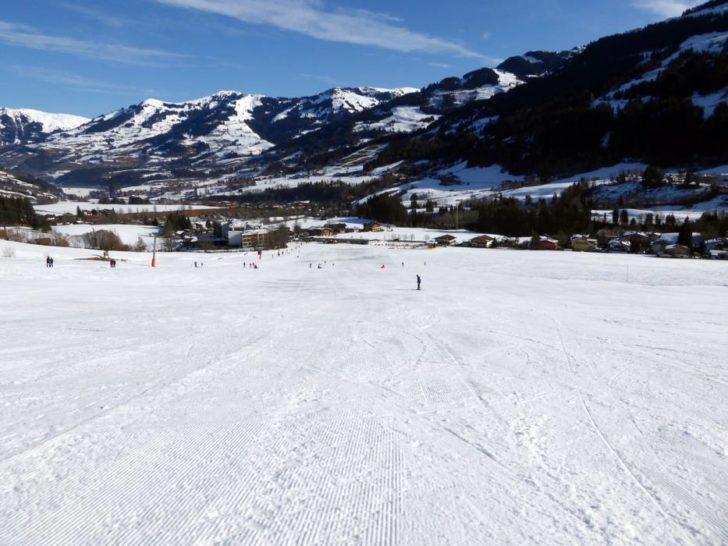 La station de ski Kitzbühel en Autriche