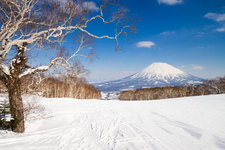 La station de ski Niseko au Japon