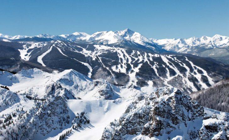 La station de ski Vail aux USA