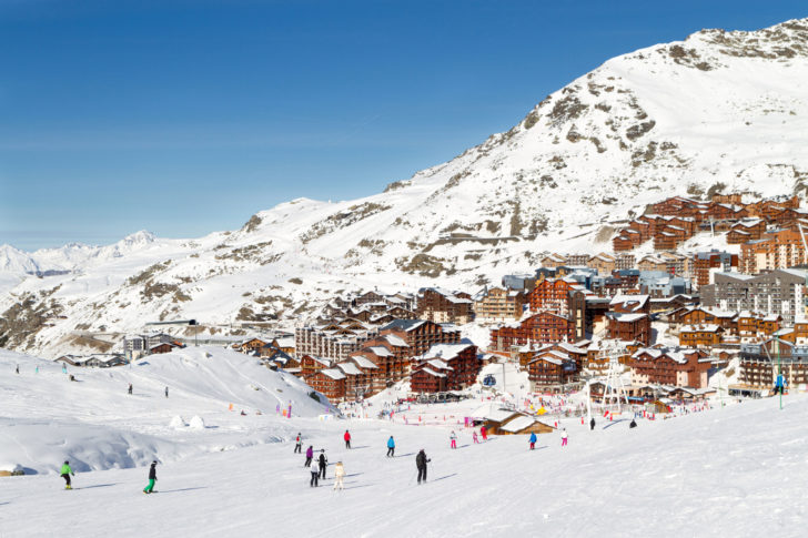 La station de ski Val Thorens en France