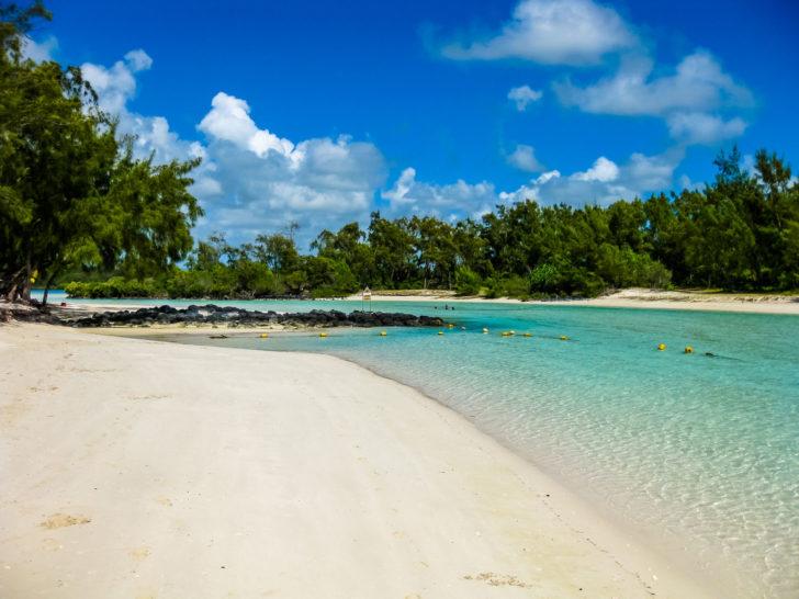 Bellemare île Deer plage blanche