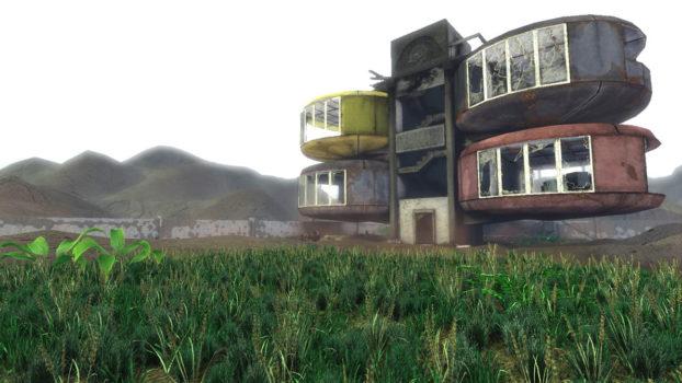 Les maisons ovnis de Sanzhi, Taiwan