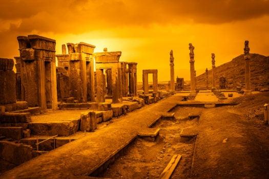 La cité de Persépolis, Iran