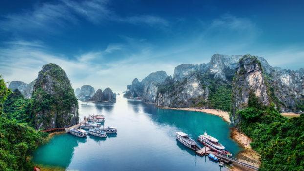 Bai d'Halong, Vietnam