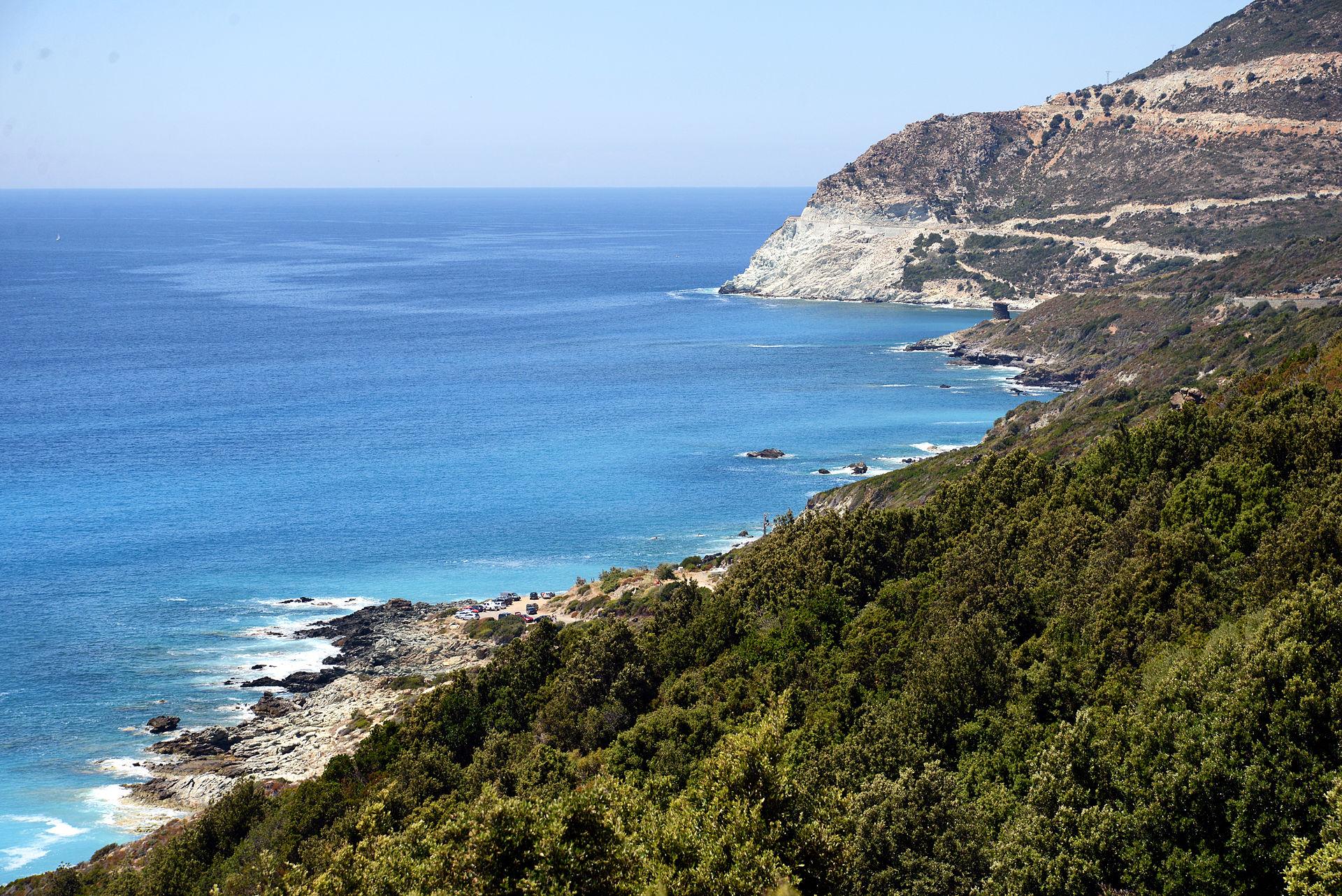 Secteur littoral entre Nonza et la Punta Bianca