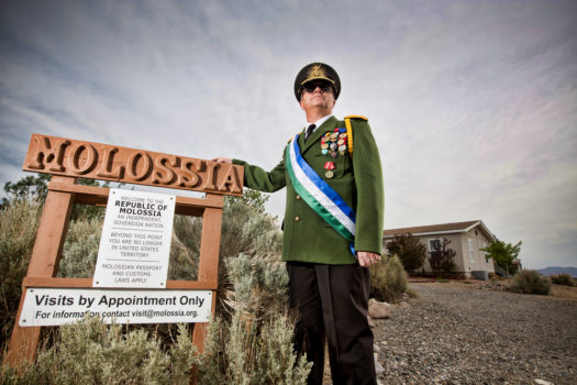 The Nation of Molossia in Nevada, USA.