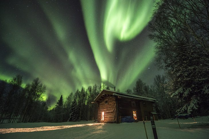 aurore boréale canada
