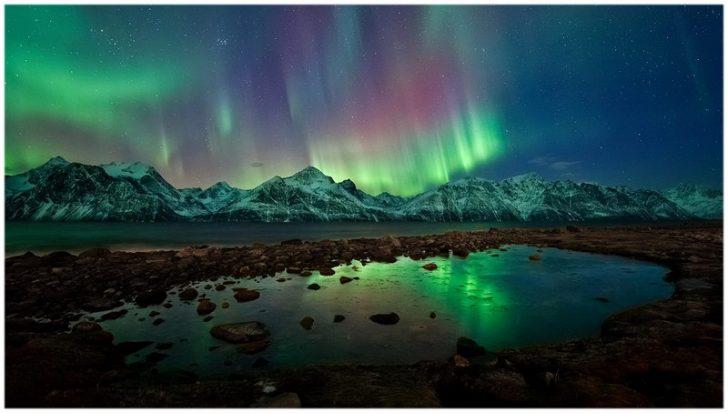 aurore boréale irlande