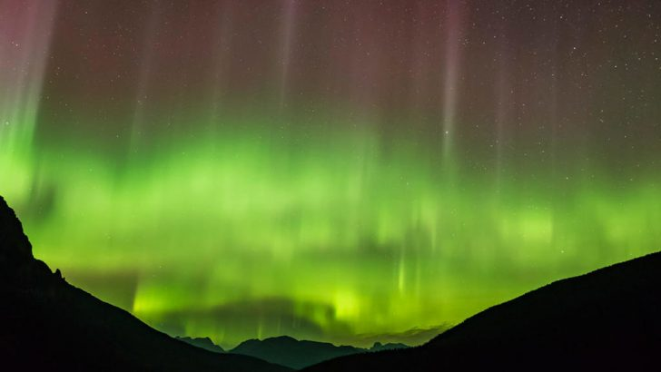 aurore boréale ecosse et royaume-uni